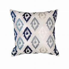 Navy And Grey Throw Pillows by Kas Rugs Scape Navy Grey Decorative Pillow