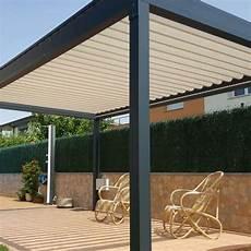 pergola alu 4x4 pergola bioclimatique lounge autoport 233 e en aluminium alsol