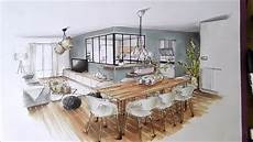 architecte d intérieur gratuit perspective int 233 rieure croquis am esquisse architecture d int 233 rieur