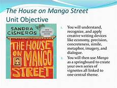 the house on mango street unit plan ppt the house on mango street unit objective powerpoint
