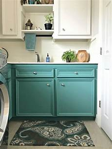 try this colorful small laundry room design makeover abbotts at home