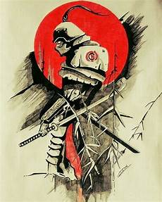 atomic samurai seni jepang tato jepang lukisan jepang