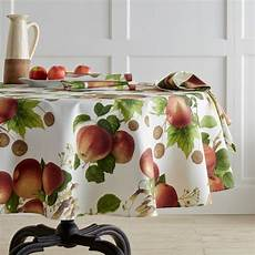 Kitchen Linens And Decor by Botanical Apple Tablecloth Williams Sonoma The Apple