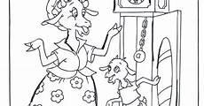Malvorlagen Und Der Wolf Maerchen Rotk 228 Ppchen Und Der Wolf Mutter Findet Gei 223 Lein