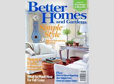 Better Homes and Gardens September 2007