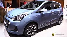 Hyundai I10 2016 - 2017 hyundai i10 exterior and interior walkaround