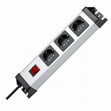 kopp 226020017 steckdosenleiste powerversal 3 fach mit