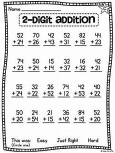 grade math unit 13 for 2 digit addition and