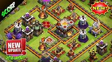 coc update 2018 th11 trophy base 2018 best coc base for th11 legend