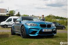 bmw m2 coup 233 f87 26 may 2017 autogespot