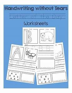 handwriting without tears cursive worksheets free 21826 letter of the day worksheets handwriting without tears tpt