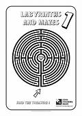 Cool Coloring Pages Labyrinth / Maze No 1