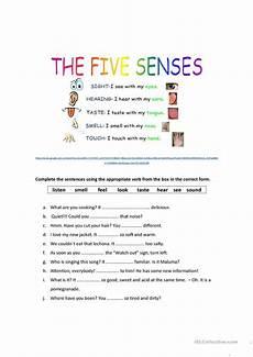 five senses worksheets esl 12645 the five senses worksheet free esl printable worksheets made by teachers