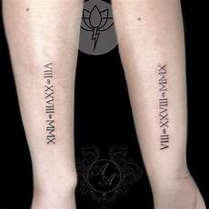 125 roman numeral tattoos have a better appeal with