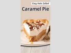 easy caramel pie_image