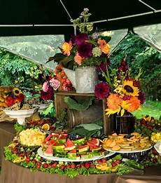 fruit table for wedding reception country wedding fruit table display ideas for the house
