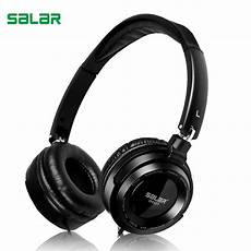 Foldable Gaming Headphone Wired Stereo by Salar Em520 Hifi Stereo Bass 3 5mm Wired Foldable