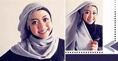 Tips Cara Memakai Jilbab Keren Segi Empat Menghadirkan