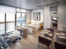 Decorating Ideas For Studio Apartments by 5 Small Studio Apartments With Beautiful Design
