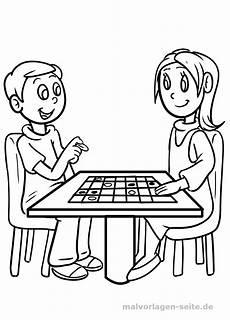 malvorlage junge m 228 dchen spielen personen kostenlose