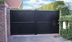 Portail Aluminium Plein Haut Smf Services