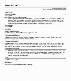 workshop manager resume sle manager resumes livecareer