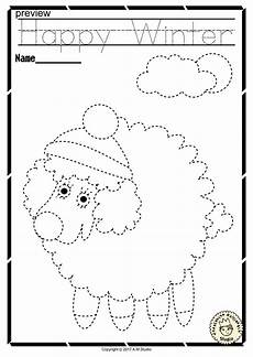 handwriting worksheets for motor skills 20666 winter trace and color pages motor skills pre writing motor skills pre writing
