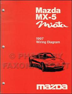 automotive repair manual 1997 mazda mx 5 instrument cluster 1997 mazda mx 5 miata wiring diagram manual original