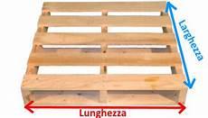 misure pedane epal pallet in legno a 2 vie