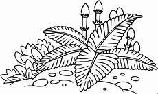 uralte pflanzen ausmalbild malvorlage tiere
