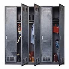 armoire style industriel graphite work longueur 91 cm