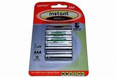 10 x aaa 1 2 v 600mah nimh aufladbare batterien garten