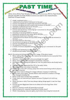 time revision worksheets 3176 past time revision esl worksheet by keyeyti