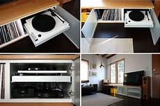 meuble rangement pour disque vinyle ikea hacks pour ranger vos vinyles en 2019 rangement