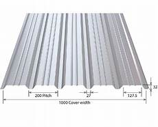 roofdek tata steel structural roof decking and liner trays