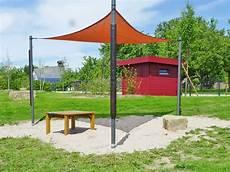 Sonnensegel Stahl Holz Rathschlag Spielelemente Produkt