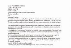 Contestation Pv Lettre Modele De Lettre Type