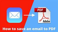 how to save an email as pdf iphone ipad and mac