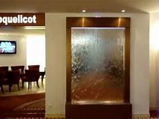mur d eau ambiance miroir