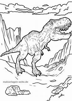 Dino Malvorlagen T Rex Malvorlage Tyrannosaurus Rex Dinosaurier Ausmalbilder