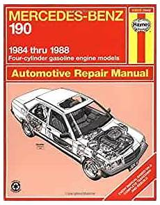 what is the best auto repair manual 1984 volkswagen jetta on board diagnostic system mercedes benz 190 1984 1988 haynes manuals john haynes 9781850106432 amazon com books
