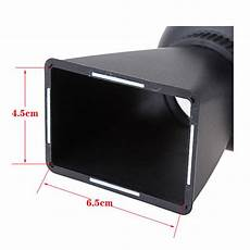 Optical Glass Monitor Viewfinder Magnifier Eyecup by Optical Glass V1 Lcd Monitor Viewfinder 2 8x Magnifier