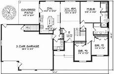 house plans ranch style traditional ranch style home plan 89130ah