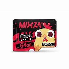 Mixza Year Rooster Limited Edition 16gb by Mixza Class10 Sdhc Micro Sd Memory Card Rooster Year