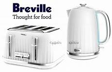 breville impressions kettle and toaster set white kettle