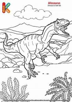 Dinosaurus Allosaurus Ebook Anak