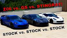 does a stock corvette grand sport beat a stock corvette