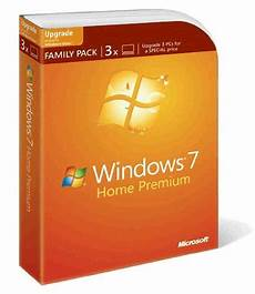 microsoft windows 7 home premium upgrade family pack 3