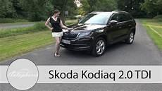 skoda 7 sitzer 2017 skoda kodiaq 2 0 tdi 4x4 dsg 190 ps fahrbericht kodiaq 7 sitzer im detail autophorie