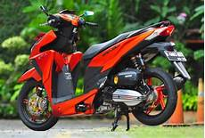 Modif Vario 150 Simple by Contoh Modifikasi Honda Vario 150 Esp Tilan Sporty Dan